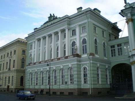 Малый Эрмитаж на Дворцовой площади в Санкт-Петербурге