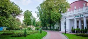 Сад Эрмитаж в Москве - центр летней гастрольной и эстрадной жизни столицы