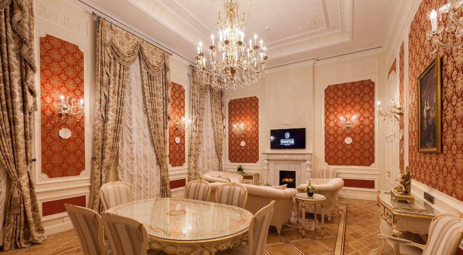 """Президентская резиденция в отеле """"Эрмитаж"""" в Санкт-Петербурге"""